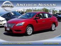 2014 Nissan Sentra S Sedan at Antioch Nissan