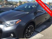 Used 2015 Toyota Corolla S Plus in Torrance CA