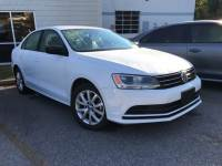 Certified Pre-Owned 2015 Volkswagen Jetta 1.8T SE FWD 4D Sedan