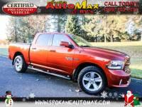 2013 RAM 1500 Sport 5.7L V8 4x4 1/2 Ton Pickup Truck