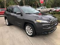 2014 Jeep Cherokee Limited FWD SUV I-4 cyl