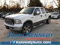 Used 2007 Ford F-250SD Lariat Truck Power Stroke V8 DI 32V OHV Turbodiesel For Sale Phoenixville, PA