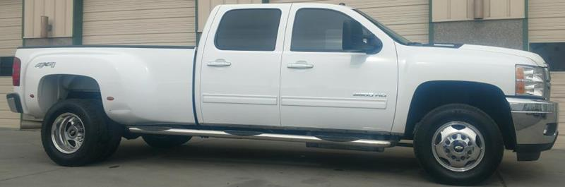 2012 Chevrolet Silverado 3500HD LTZ CREW DUALLY