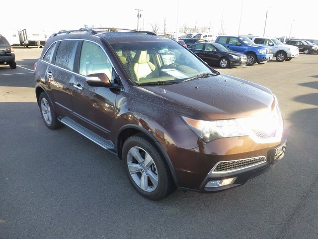 Pre-Owned 2010 Acura MDX Technology With Navigation & AWD