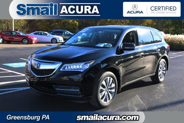 Photo Pre-Owned 2014 Acura MDX in Greensburg, PA