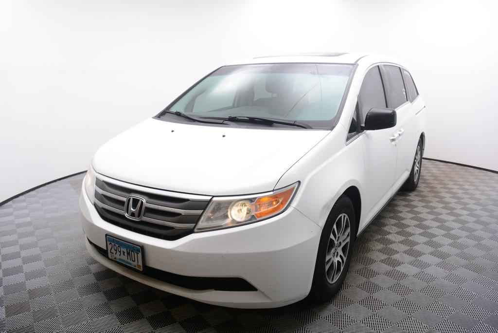 Pre-Owned 2011 Honda Odyssey EX-L Front Wheel Drive Van