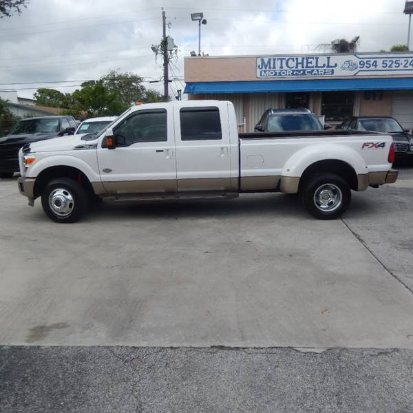 2012 Ford F-350 Super Duty 4x4 King Ranch 4dr Crew Cab 8 ft. LB DRW Pickup
