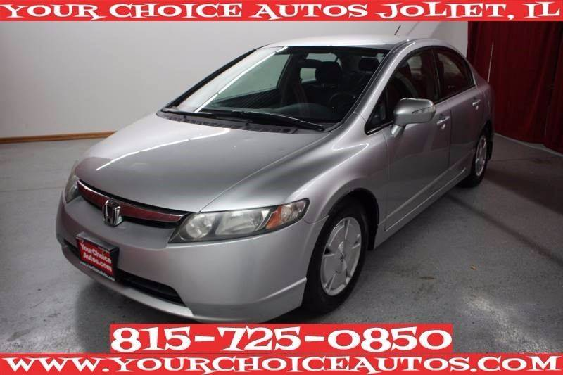 2007 Honda Civic Hybrid 4dr Sedan w/Navi