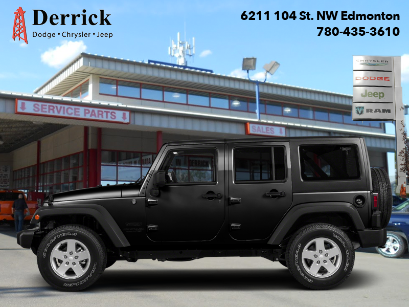 Photo Pre-Owned 2016 Jeep Wrangler Unlimited Used 4X4 Sport Black Bear Pkg Pwr Grp 209.95 BW