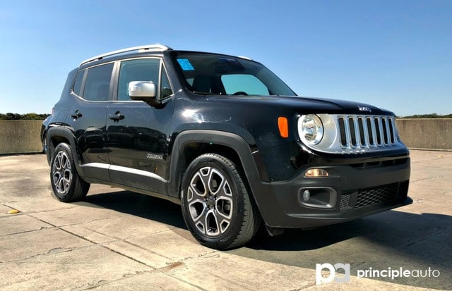 Photo Used 2016 Jeep Renegade Limited SUV For Sale San Antonio, TX