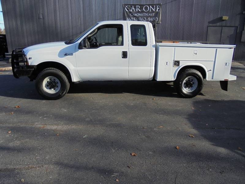 2004 Ford F-250 Super Duty 4dr SuperCab XL 4WD LB