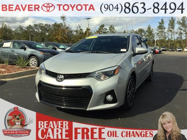 Certified Pre-Owned 2015 Toyota Corolla S FWD 4D Sedan