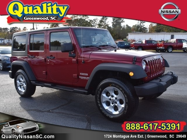 2013 Jeep Wrangler Unlimited 4x4 Sport SUV
