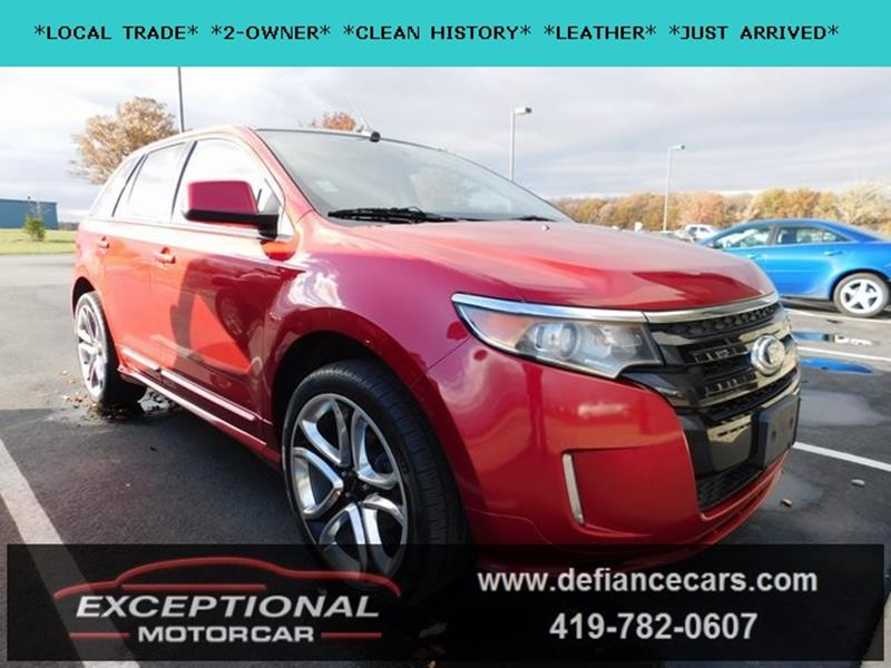 2011 Ford Edge Sport 4dr Crossover