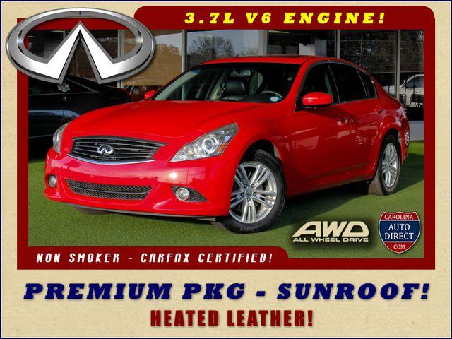 2012 Infiniti G37 Sedan x AWD - PREMIUM PKG - SUNROOF - MICHELINS!