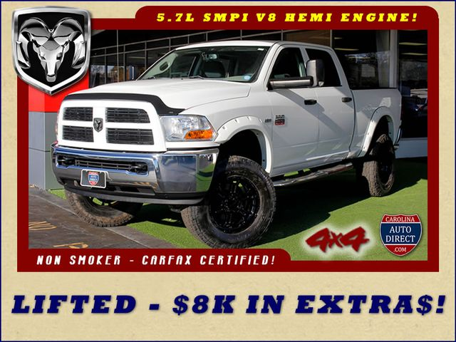 2012 Ram 2500 Crew Cab 4x4 - LIFTED - $8K IN EXTRA$!