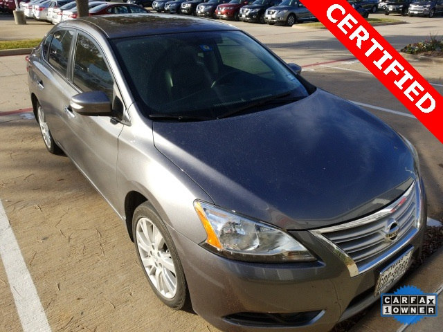 Certified 2015 Nissan Sentra SL Sedan For Sale in Frisco TX