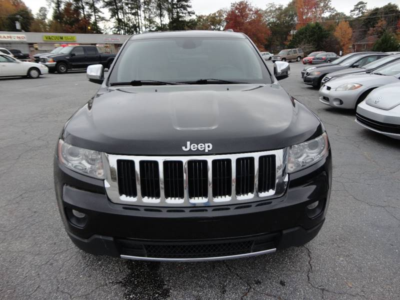 2012 Jeep Grand Cherokee 4x2 Limited 4dr SUV