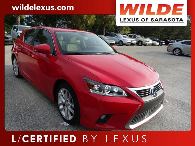 Certified Pre-Owned 2015 Lexus CT 200h 5dr Sdn Hybrid FWD 4dr Car