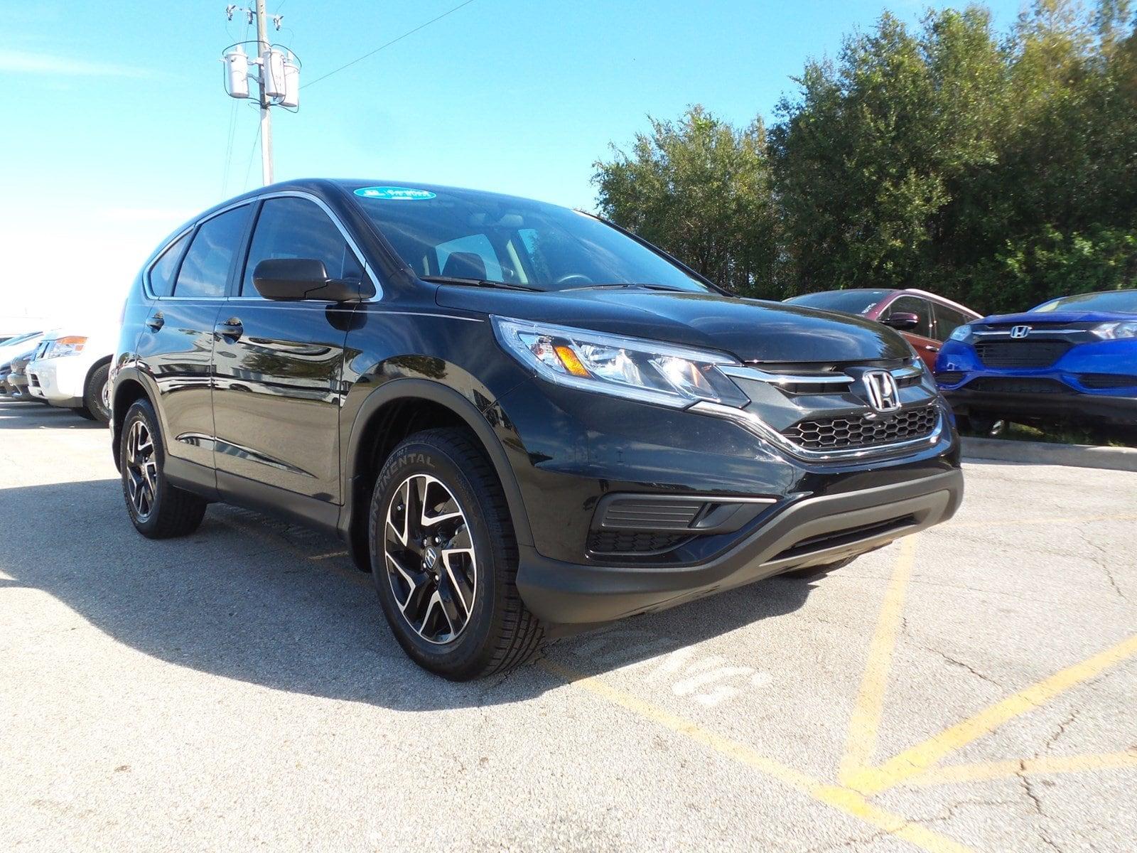 Pre-Owned 2016 Honda CR-V SE FWD SUV in Jacksonville FL