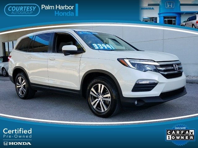 Certified 2016 Honda Pilot EX-L FWD SUV in Jacksonville FL