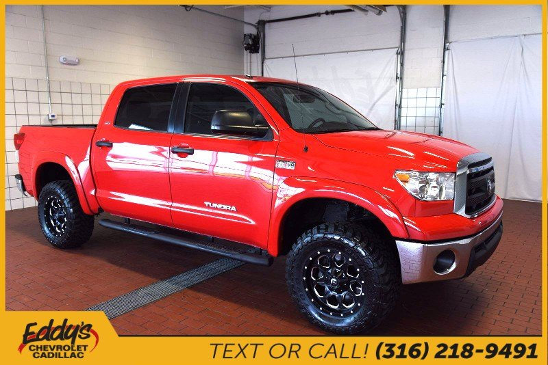 Pre-Owned 2013 Toyota Tundra Crew Cab 4x4 4x4 Truck