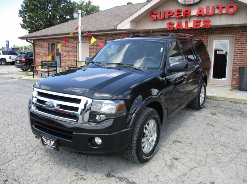 2012 Ford Expedition 4x4 Limited 4dr SUV
