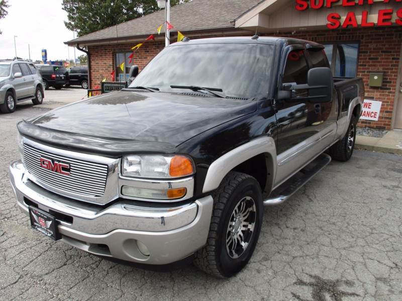 2005 GMC Sierra 1500 4dr Extended Cab SLE 4WD SB