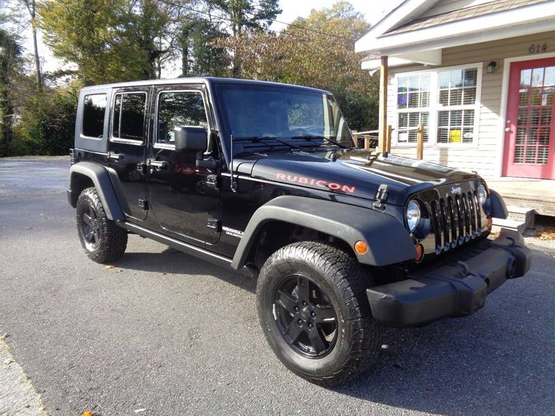 2009 Jeep Wrangler Unlimited 4x4 Rubicon 4dr SUV