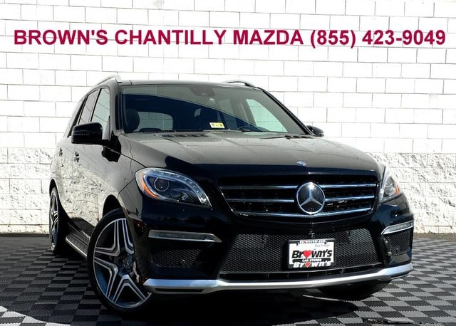 Photo 2014 Mercedes-Benz M-Class ML 63 AMG wDriver Assistance Package SUV in Chantilly