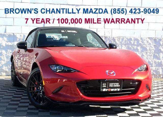 2017 Mazda MX-5 Miata w/Brembo and BBS Pa Club Convertible in Chantilly