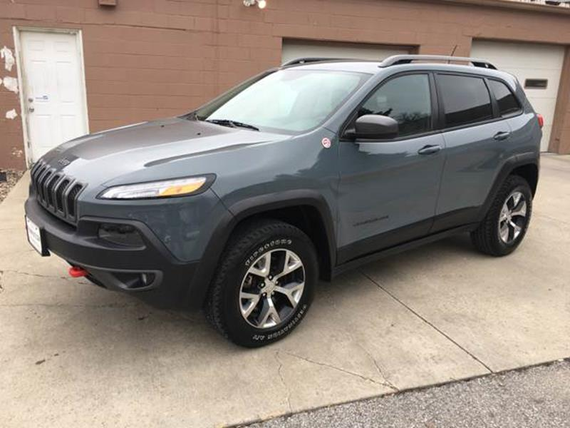 2014 Jeep Cherokee 4x4 Trailhawk 4dr SUV