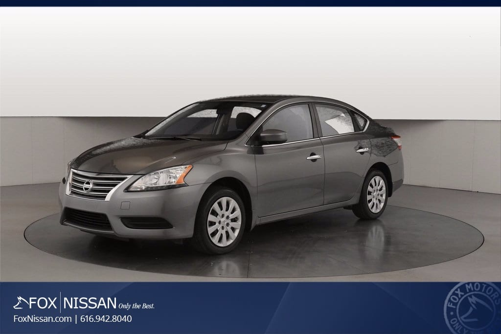 2015 Nissan Sentra S Sedan in Grand Rapids, MI
