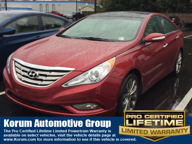 2012 Hyundai Sonata Limited 2.0T (A6) Sedan I-4 cyl