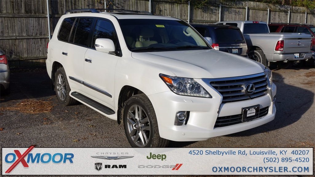 Pre-Owned 2015 Lexus LX 570 with Navigation & 4WD