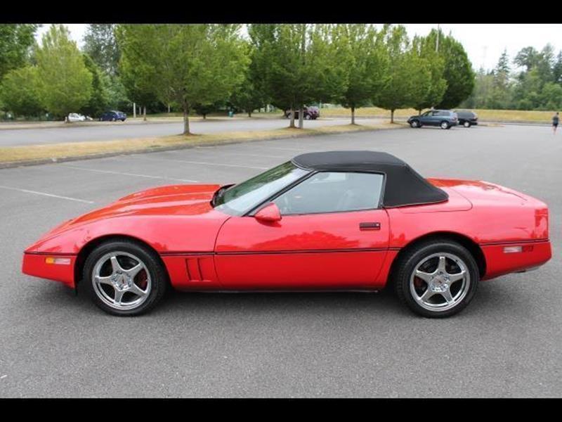1987 Chevrolet Corvette 2dr Convertible