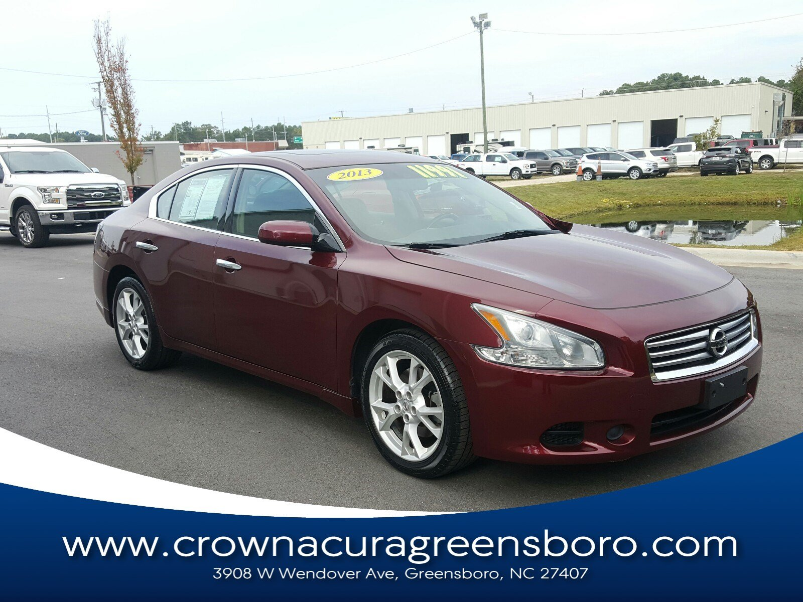 Pre-Owned 2013 Nissan Maxima 3.5 S in Greensboro NC
