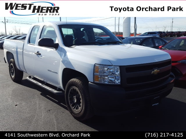 2011 Chevrolet Silverado 1500 Work Truck Truck Extended Cab