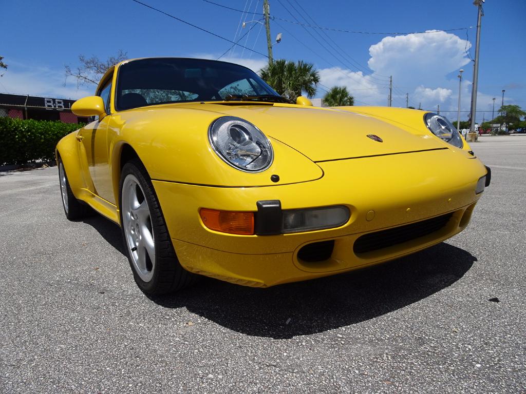1998 Porsche 911 Carrera Coupe
