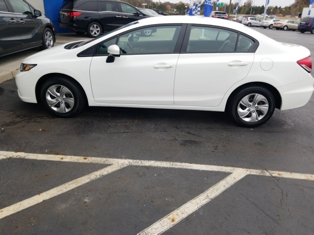 Certified 2015 Honda Civic LX Sedan in Akron OH