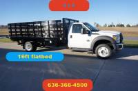 2012 Ford F-550 16 ft flatbed 4wd new factory engine waranty