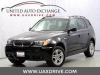 2006 BMW X3 3.0i AWD - Prior CPO Vehicle - Pano Roof - Heated Seats - Power Seats w/Memory & Lumbar Support
