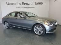 Certified 2017 Mercedes-Benz C-Class C 300 Sedan in Tampa FL