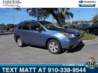 Certified Used 2016 Subaru Forester 2.5i Limited For Sale | Wilmington NC