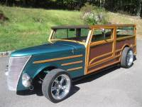 1937 Ford Woodie Woody Wagon Street Rod
