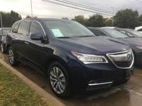 Certified Pre-Owned 2016 Acura MDX SH-AWD with Technology and AcuraWatch Plus Packages Sport Utility