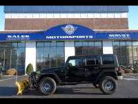 2008 Jeep Wrangler UNLIMITED SAHARA 4WD WITH PLOW