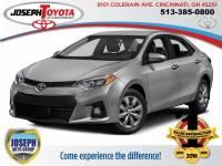 2016 Toyota Corolla S Sedan Front-wheel Drive