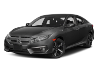 New 2017 Honda Civic Touring 4D Sedan With Navigation