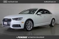 Used 2017 Audi A4 2.0T Sedan in Santa Ana, CA